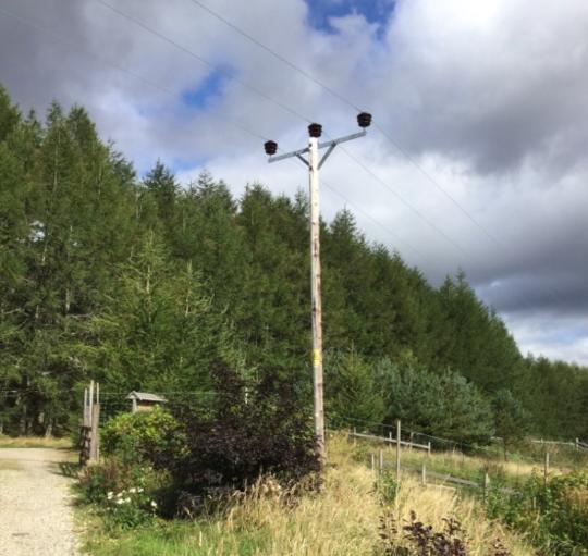 HV-Pole-Line