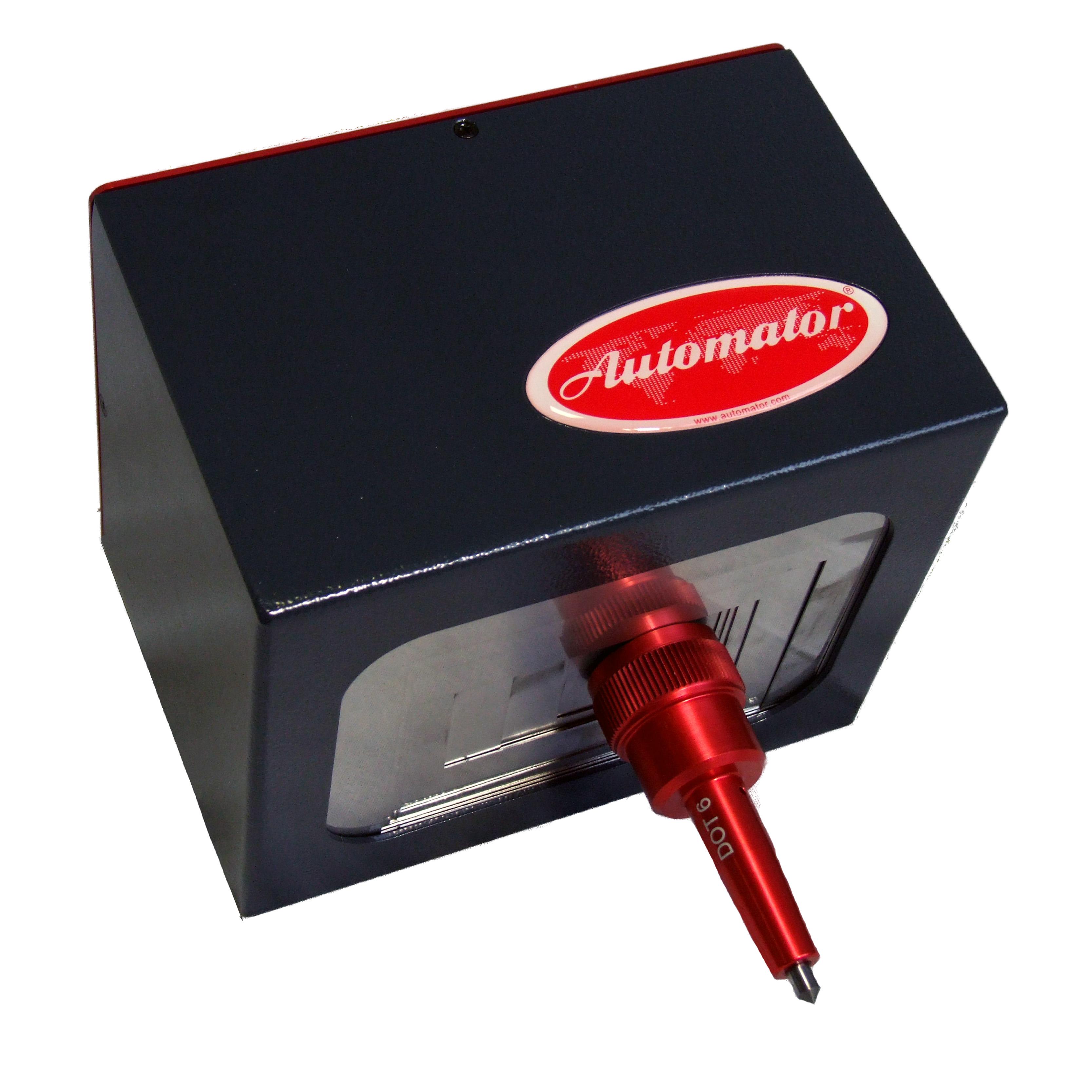 ADP 5090 Pneumatikus pontjelölő gép AC 500-as kontroll panellal (50x90 mm)