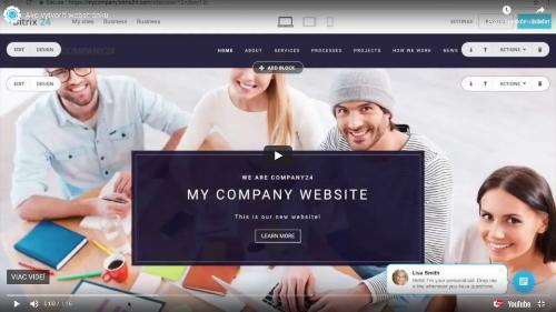 Ako vytvoriť webstránku v Bitrix24? - <Ako vytvoriť webstránku v Bitrix24?>